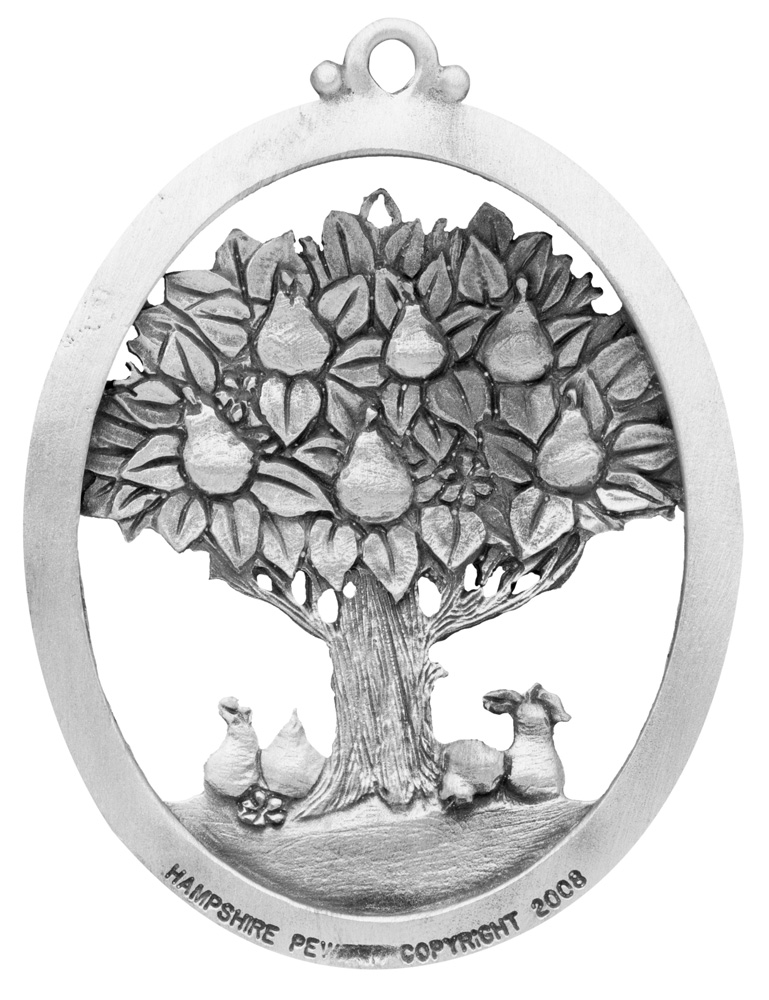 Partridge in a Pear Tree Christmas Ornament | American Made