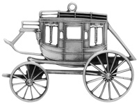 Concord Coach Ornament