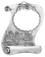 Christmas Serenade Pewter Ornament