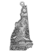 Symbols of New Hampshire Ornament