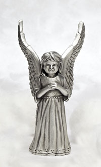 Little Girl Angel Figurine
