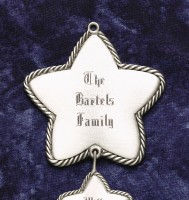 Pewter Family Star - Large