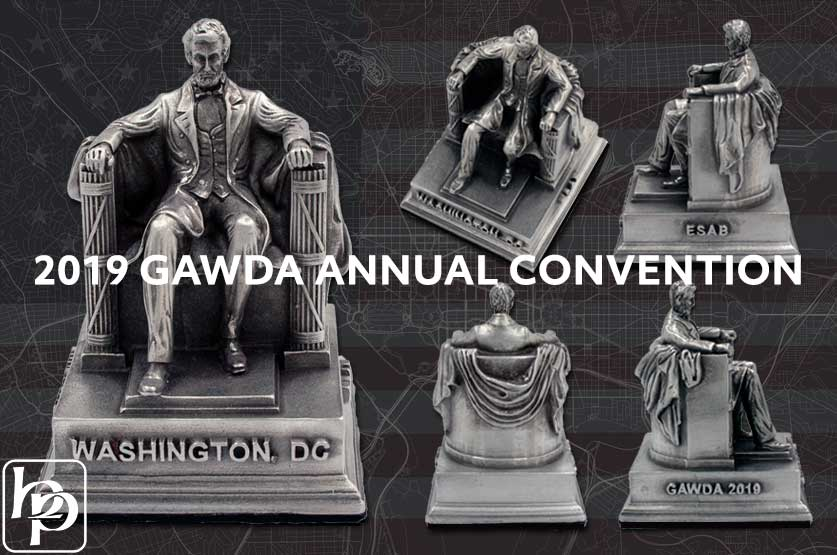 GAWDA Annual Conference | Lincoln Memorial Custom Piece