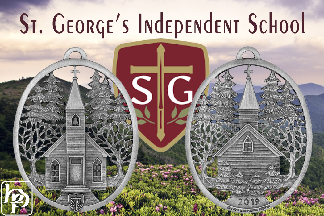 St. George's Custom Ornament