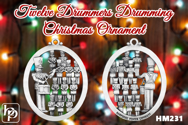 Twelve Drummers Drumming - The Twelve Days of Christmas series is complete!