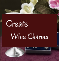 Create your own Wine Charms