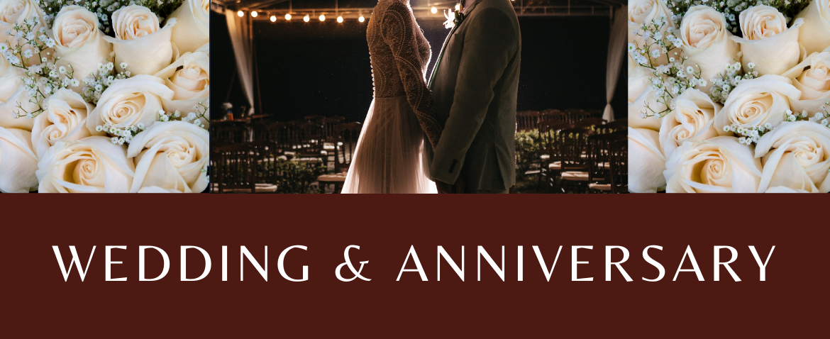 Wedding & anniversary gifts for all styles that will leave lasting impression