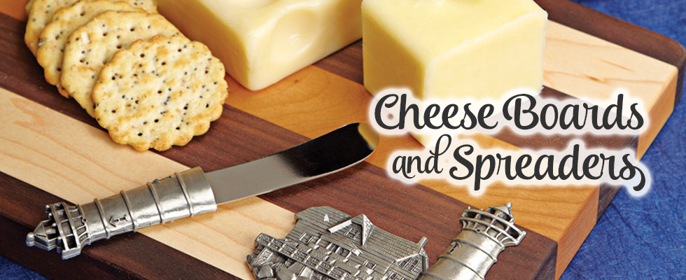 Handcrafted wine & cheese entertaining and serving pieces