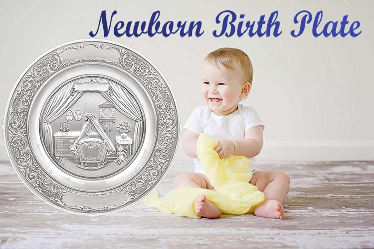 Newborn Birth Plate is a great compliment to your baby gifts collection!