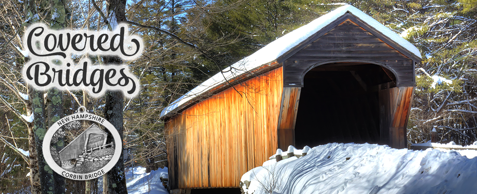 Covered bridges ornaments
