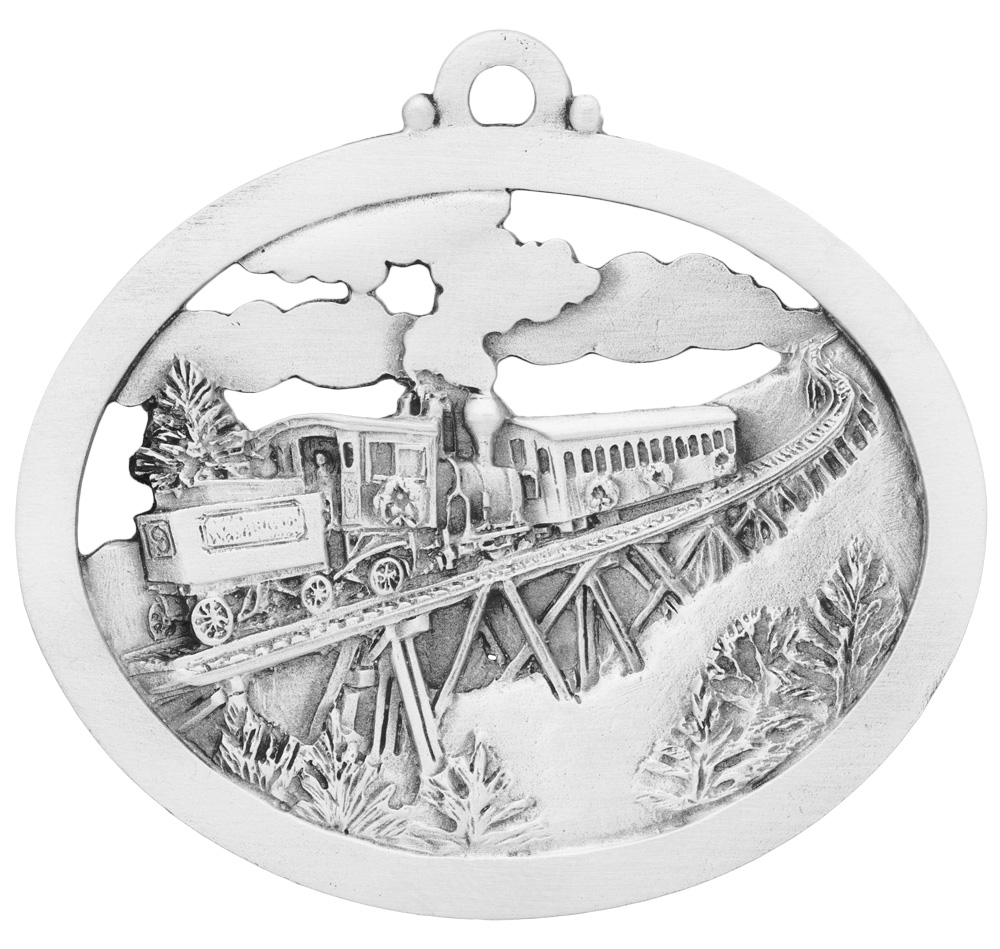 The Railway to the Moon Ornament