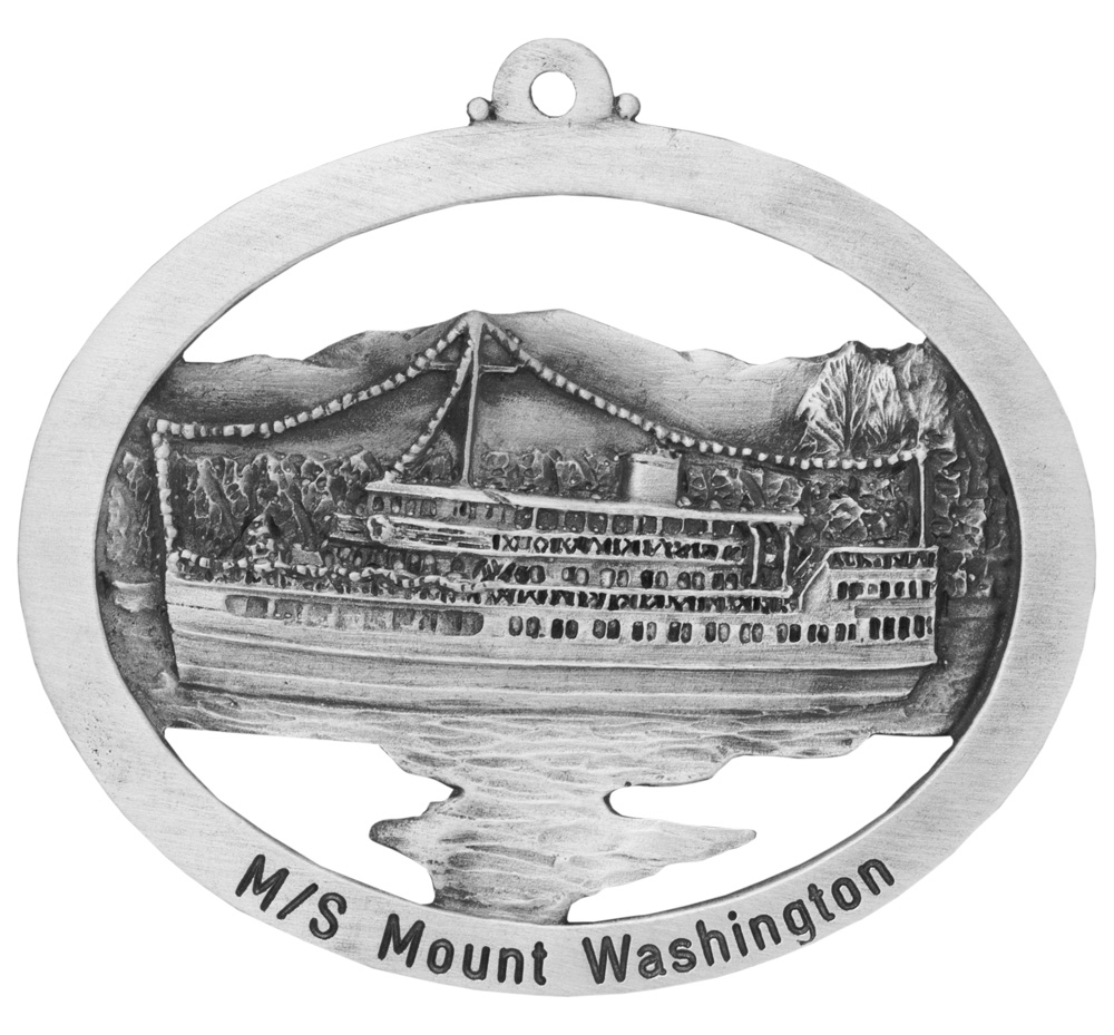 Christmas on the Mount Ornament