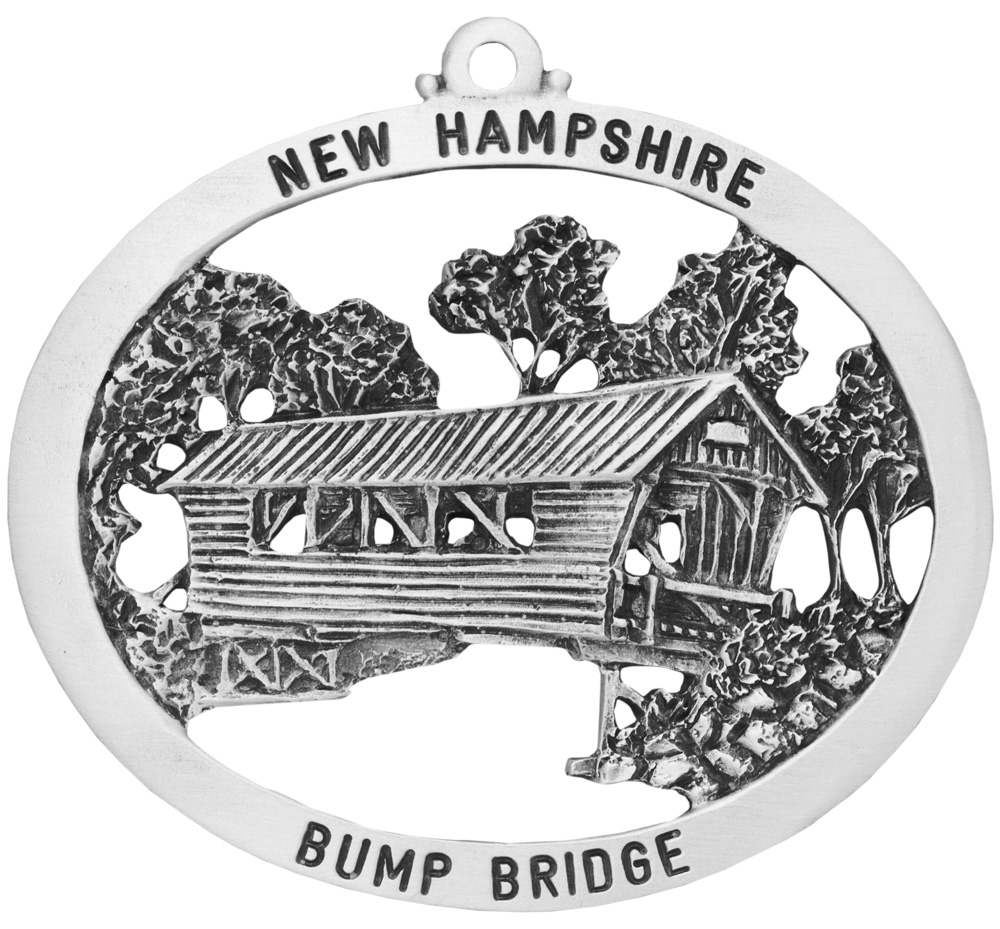 Bump  Covered Bridge Ornament