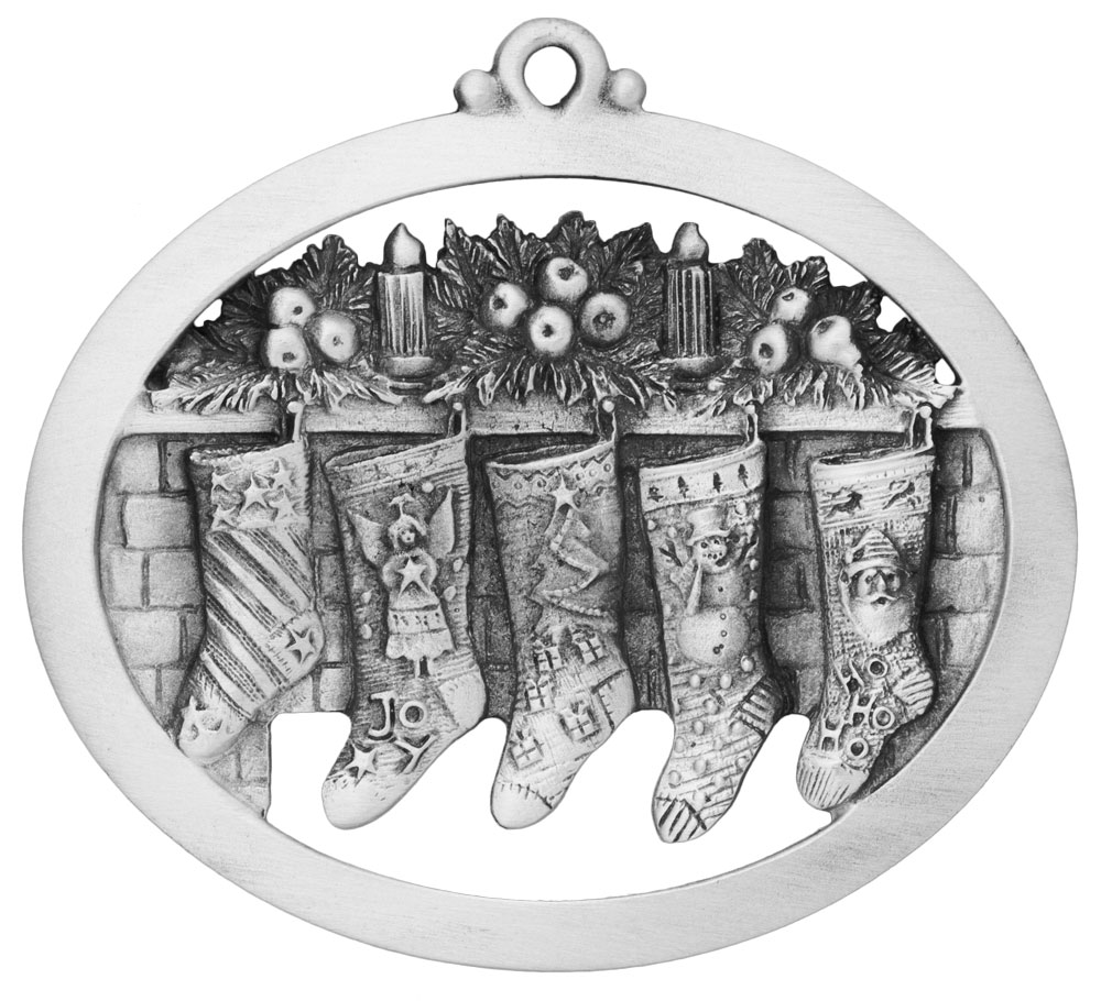 Fireplace Stockings Ornament