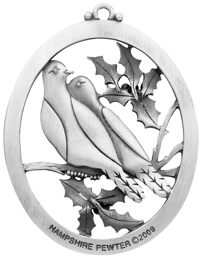 White dove christmas ornaments - Quick View