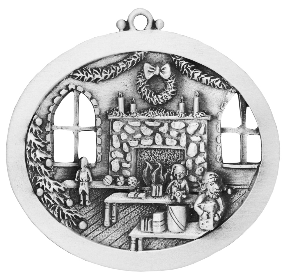 Santa Workshop Ornament