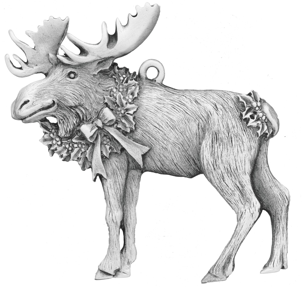 quick view - Christmas Moose