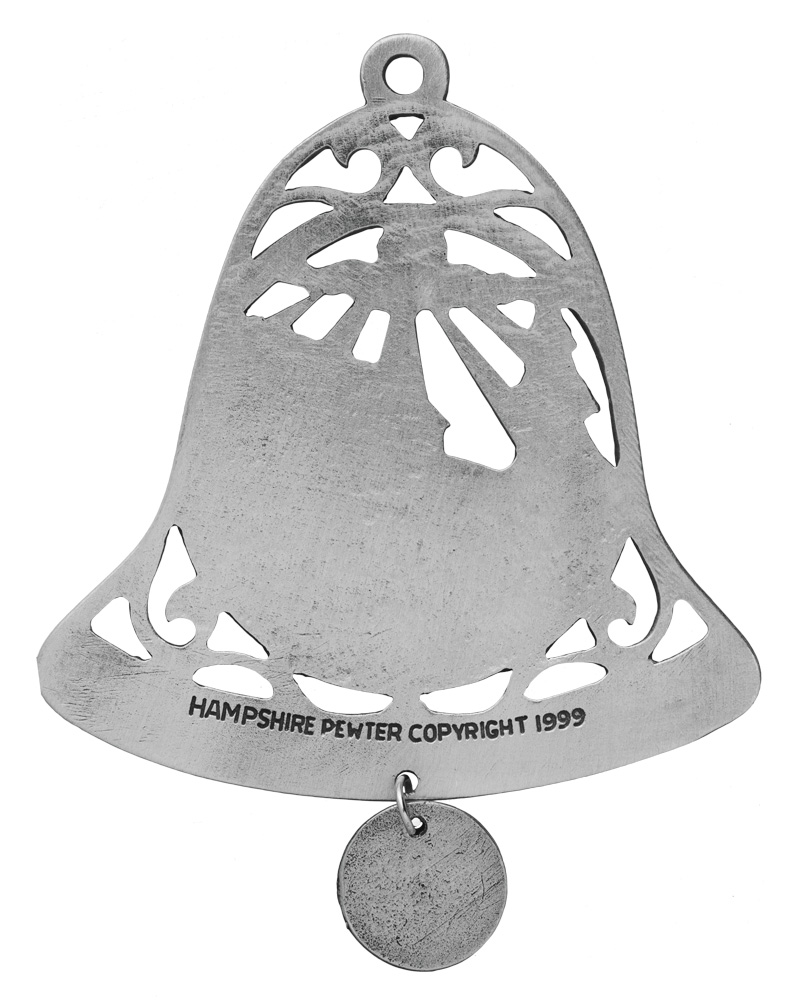 Church Bell Ornament | Beautifully crafted pewter ...