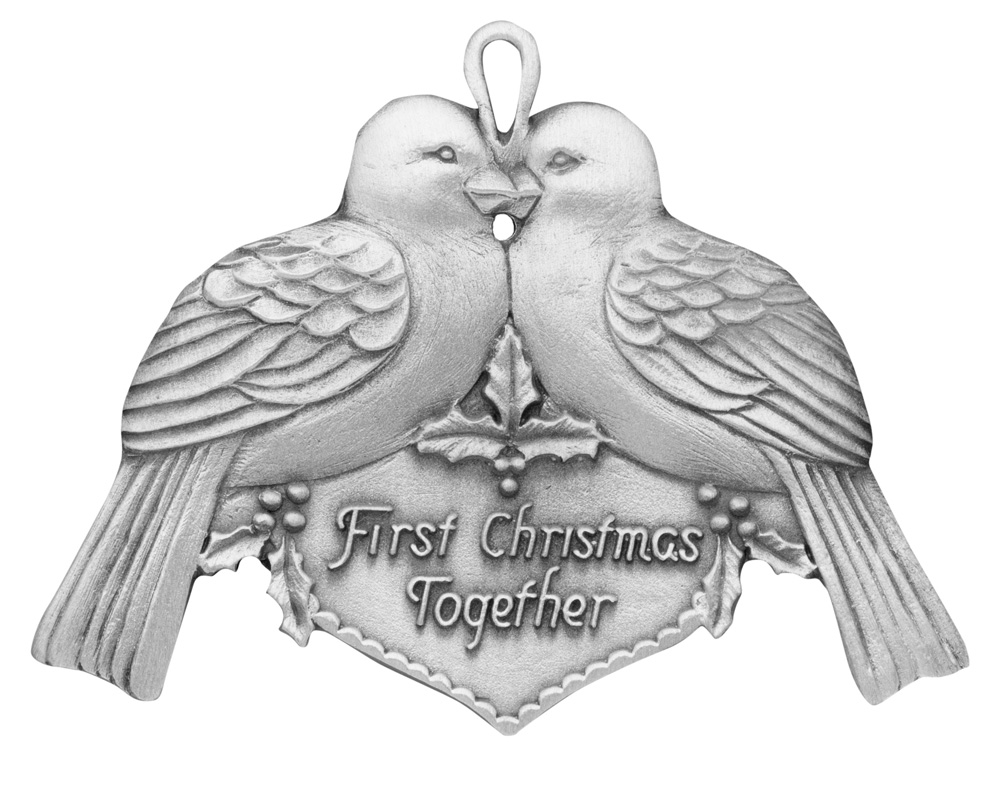 First Christmas Together Ornament | Handcrafted New Hampshire