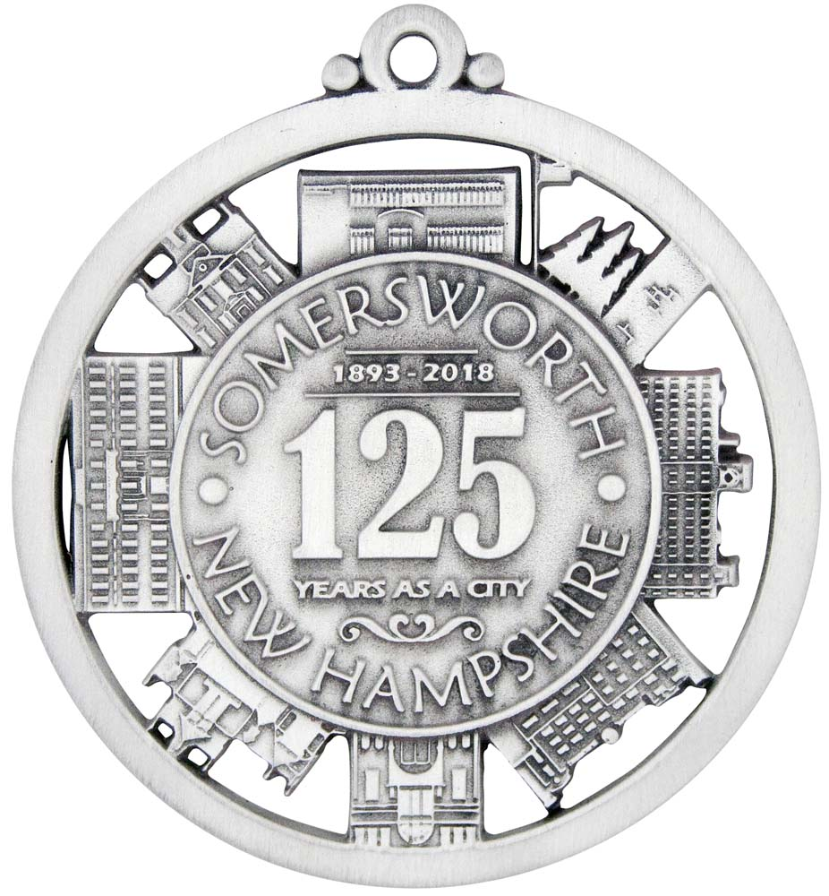 Somersworth 125th Christmas Ornament