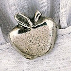 Apple Hat Lapel Bag Pin