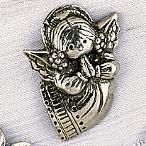 Angel Hat Lapel Pin