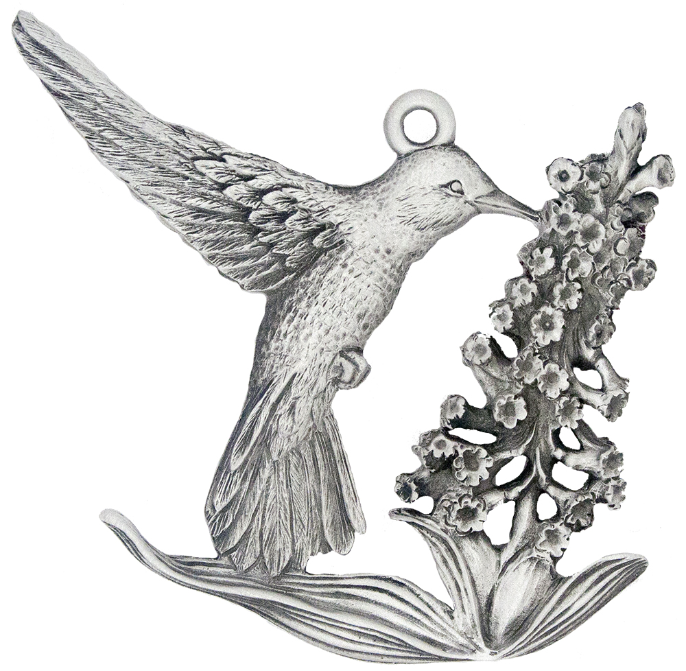 Hummingbird Christmas Tree Ornament | Handcrafted in the USA