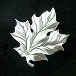 Sugar Maple Tree Leaf Fridge Magnet