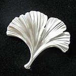 Ginkgo Tree Leaf Fridge Magnet