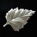 Birch Tree Leaf Fridge Magnet