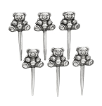 Bear Birthday Candle Holders