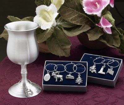 New England Wine Charms