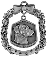 Chesapeake Bay retriever Christmas Ornament