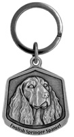English Springer Spaniel Keychain