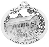 Cilleyville Covered Bridge Ornament