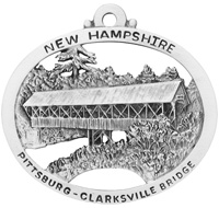 Pittsburg-Clarksville Covered Bridge Ornament