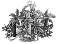 Poinsettias Ornament