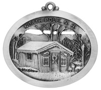 North Pole N.H. Ornament