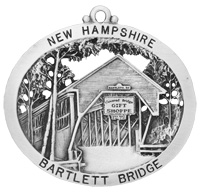 Bartlett Covered Bridge Ornament