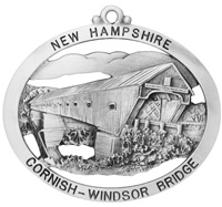 Cornish-Windsor Covered Bridge Ornament