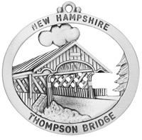 Thompson Covered Bridge Ornament