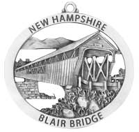 Blair Covered Bridge Ornament