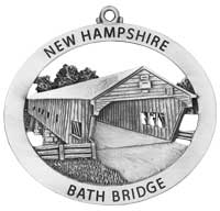 Bath Covered Bridge Ornament