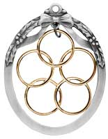 Five Golden Rings Ornament