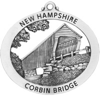 Corbin Covered Bridge Ornament