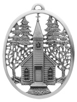Village Church Ornament
