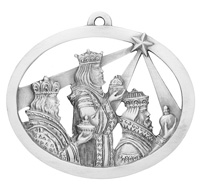 Three Wisemen Ornament