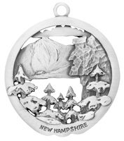 Remember New Hampshire Ornament