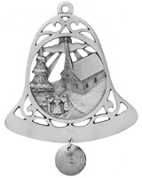 Church Bell Ornament