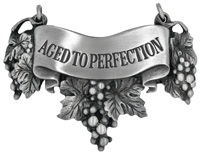 Aged to perfection Liquor Label